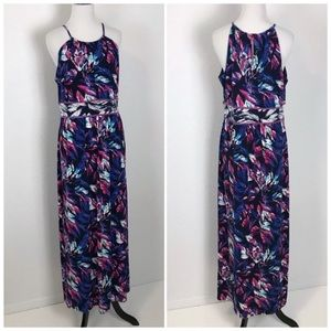 Roz & Ali 12P 12 Petite Maxi Dress Matte Jersey